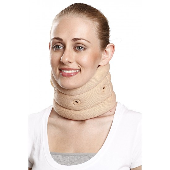 Skyrise Soft Cervical Collar With Support - Neck Support  (Beige)
