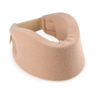 Skyrise Very Soft Cervical Neck Splint Soft Belt Support Collar For Neck Pain Free Size Neck Support (Beige)