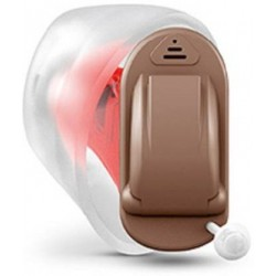 Siemens Signia Intuis 3 click ITC- completely-in-canal 12 Channel Digital Right Ear Hearing Aid (Beige)