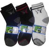 Socks- Men Solid Ankle Length  (Pack of 3)