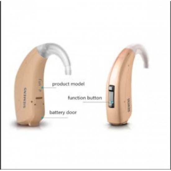 Siemens Signia Behind The Ear Lotus Fun SP Digital 6 Channel Hearing Aid For Moderate To Profound Hearing Loss..