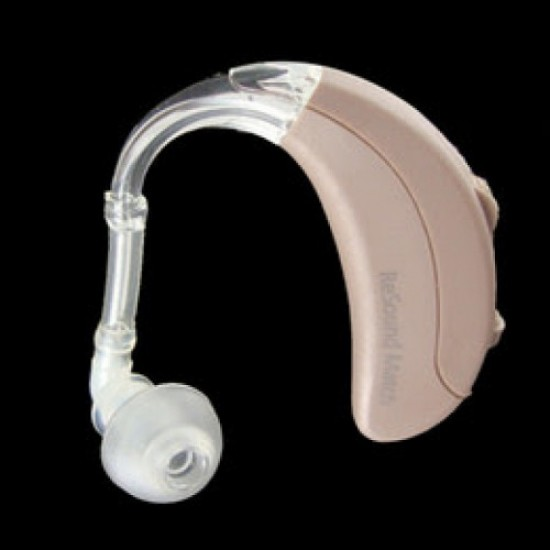 HEARING AID BTE EAR TIPS =6 PCS + ELBOW PIPE = 6 PCS