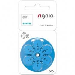 Signia Hearing Aid Battery 675 (6 PCS)