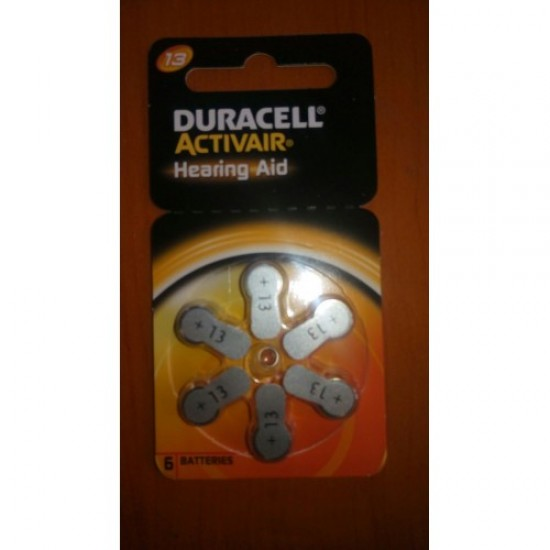Duracell Activair Battery P13 (30 PCS Battery)