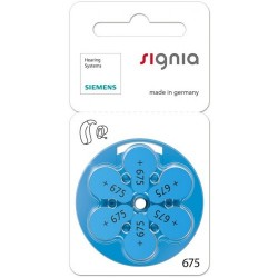 Signia Hearing Aid Battery 675 (60 PCS)