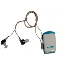 Siemens Amiga Pocket Machine 178 For Both Ear Hearing Aid (White, Blue)