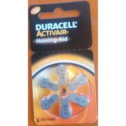 Duracell Activair Battery P13 (6 PCS Battery)