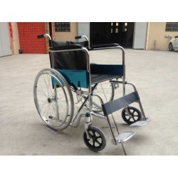 Wheel Chair Steel Chrome Plated